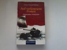 AUF VERLORENEN POSTEN--OSTPREUSSEN 1944/45