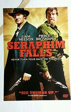 SERAPHIM FALLS LIAM NEESON PIERCE BROSNAN FLYER MINI POSTER (NOT A movie )