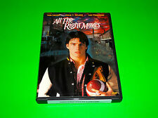 TOM CRUISE ALL THE RIGHT MOVES DVD