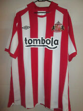 Sunderland 2010-2011 Home Football Shirt Size xxl /11636