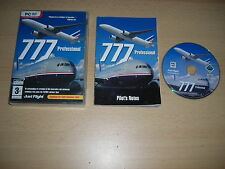 777 Professional PC DVD ROM add-on Simulatore di volo SIM 2004 FS2004