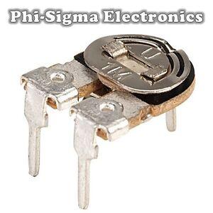 5 Pack - Carbon Potentiometers (Variable Resistors/Preset/Trimmer/Pot)