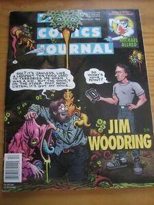 The Comics Journal #164 Jim Woodring Michael Allred Dave McKean