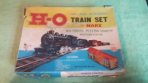 VINTAGE MARX H-O  BATTERY OPERATED TRAIN SET - PRE OWNED/USED