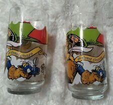 Mcdonalds The Great Muppet Caper Glass Drinking Fozzie Gonzo Kermit lot of 2 198