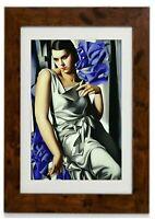 Superior Mother Framed Print By Tamara De Lempicka