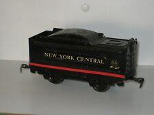 Tender de locomotive vapeur  NEW YORK Central en tôle  MARX TOYS