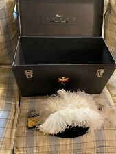 Vintage Knights Of Columbus Lynch & Kelly Ostrich Feather Hat Society Regalia