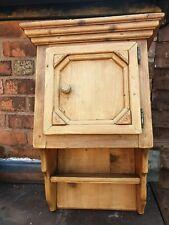 Solid Pine Vintage Rustic Cupboard Cabinet Storage Unit