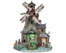 Lemax Spooky Town 2008 HAUNTED WINDMILL #85667 NRFB Sights & Sounds Halloween *