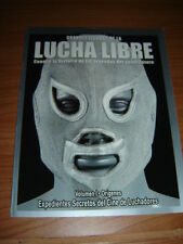 MAGAZINE EXPEDIENTES SECRETOS CINE DE LUCHADORES revista Volumen I wrestling