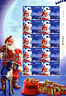 Jersey 2016 MNH Father Christmas in Jersey 8x 10v M/S Santa Claus Stamps
