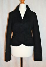 DKNY Size 6 XS Gorgeous 100% Cotton Blazer Jacket GENUINE Fully Lined VGC CLEAN