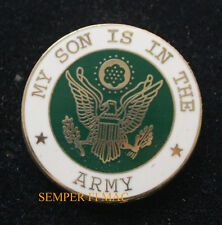 MY SON IS IN THE US ARMY SEAL LOGO HAT PIN PROMOTION GIFT MOM DAD
