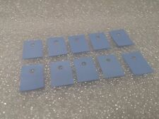 10 Pack - TO-220 Semiconductor Insulation Pads Silicone Heatsink Shim