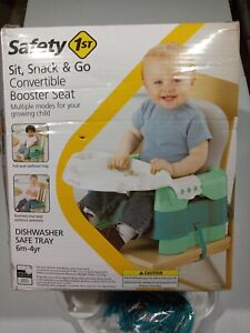 Safety 1st Sit, Snack & Go Convertible Booster Seat