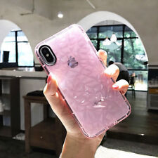 For iPhone X 8 6 7 Plus Crystal Bling Glitter Silicone TPU Clear Soft Case Cover