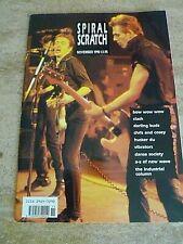 THE CLASH  ORIGINAL 'SPIRAL SCRATCH MAGAZINE FROM 1990 , CLASH COVER + FEATURE