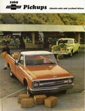 CHEVROLET 1969 Truck Sales Brochure 69 Chevy Pick Up