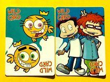 2 Nick Nickelodeon Rugrats & Fairies Wild Card Jokers Single Swap Playing Cards
