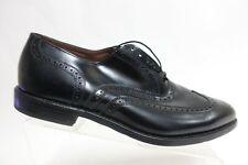 ALLEN EDMONDS Lloyd Black Sz 11.5 EEE Wide Men Wingtip Oxford Dress Shoes