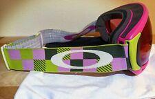 OAKLEY CANOPY Pink/Green Prizm Rose Lens 26% VLT Snowboard Ski Goggles AUTHENTIC