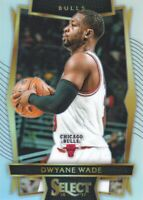 2016-17 Select Basketball Prizms Silver #93 Dwyane Wade Chicago Bulls