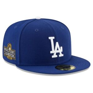 Los Angeles Dodgers New Era 2020 World Series Champions 59FIFTY Fitted Hat