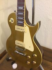 Vintage Electric Guitar V100 GT [GOLD TOP]