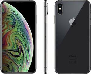 Apple iPhone XS Max 64GB 256GB 512GB Gold, Space Gray, Silver - Unlocked