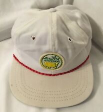 Vintage AUGUSTA NATIONAL GOLF CLUB NOT MASTERS Members Exclusive Patch White Hat