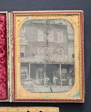 19th Century Undertaker, Full Plate Daguerrotype Case, Tintype