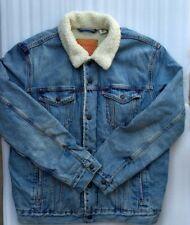 Levis Trucker Sherpa Snap Button Jacket Men XL