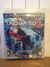 Uncharted 2-Among Thieves-Sony PlayStation 3-PS3-video game-action-teen-2009