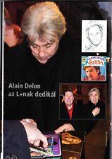 ALAIN DELON .  LIV TYLER , WHITESNAKE  Hungarian magazine