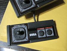 "Original Official SEGA Master System Controller 3020 ""Model 2"" w/ Thumb Stick"