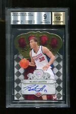 2009-10 Crown Royale Blake Griffin #108 Signed Card /399 BGS 9 Auto 10