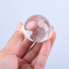 LONGWIN Crystal World Globe Frosted Glass Ball Photography Props 30mm