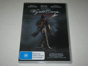 Wyatt Earp - Kevin Costner - Brand New & Sealed - Region 4 - DVD