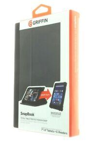 "Griffin iPad Mini Kindle Fire Samsung Tablet Case   7"" 8"" Folio Snapbook Cover"