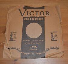 "Vintage custom shellac 78rpm 12"" - Sanctus Benedictus/Kyrie War Bond Sleeve"