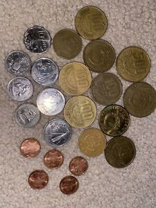 Costa Rica - Mixed Coin Collection Lot - World/Foreign/N. & C. America