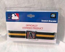 Major League Baseball MLB Stretch Bracelet - A's Oakland Athletics