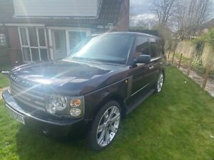 Range Rover vogue 2003 spares or repairs, no MOT