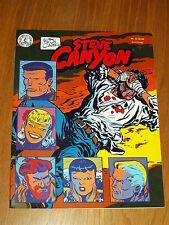 STEVE CANYON #11 JULY 1985 MILTON CANIFF KITCHEN SINK PRESS US MAGAZINE^