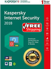 Kaspersky INTERNET Security 2018 5 PC / User / 5 Device 1 Year / Download 16.25$