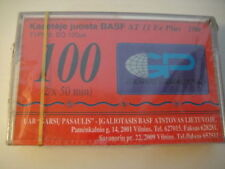 GP/BASF AT 11 Fe Plus 100 BLANK Audio TAPE/Cassete SEALED