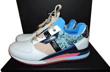 DOLCE & GABBANA Lace Laminate Sneakers Flat Runway Athletic Shoe 37