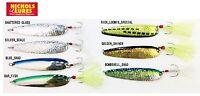 "Nichols Lake Fork Flutter Spoon, 4"", 3/4 oz, Choice of Colors"