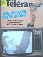 1726 TéLé SON COÛT COMEDIE A LA FRANCAISE JOE JACKSON MICHEL ELIAS TELERAMA 1983